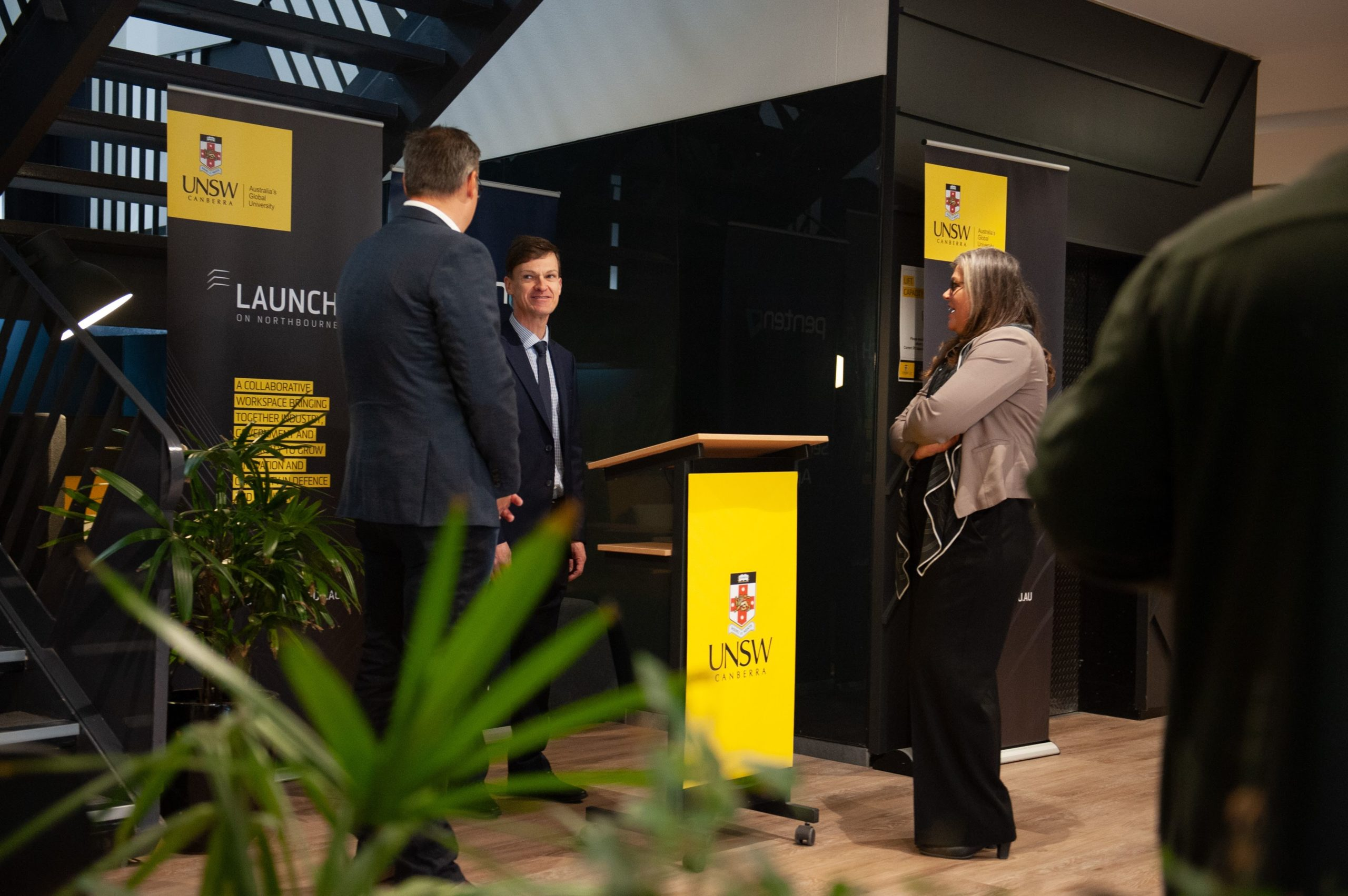 Penten at Launch on Northbourne